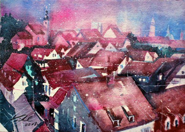 Graz, Dachlandschaft  (Nr. 17190)