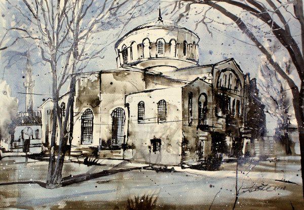 Türkei, Istanbul, Hagia Irene (Nr. 18086)