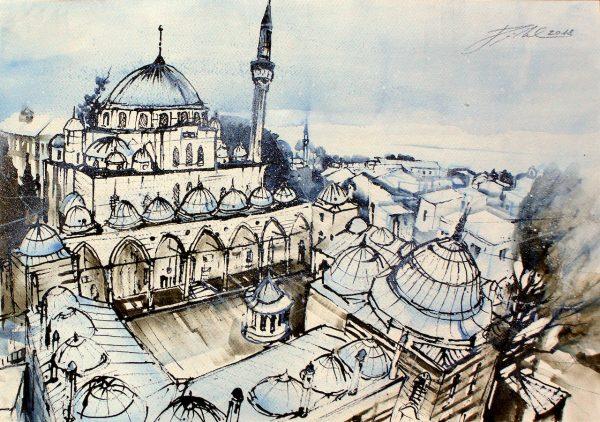 Türkei, Istanbul, Sokullu Mehmet Pasha Moscchee (Nr. 18089)