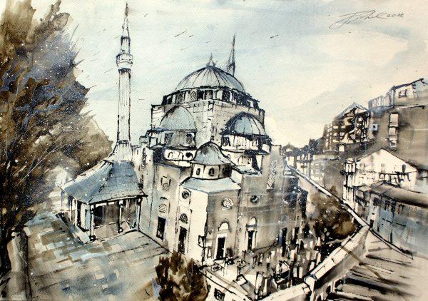 Türkei, Istanbul, Usküdar Mihrima Sultan Moschee (Nr. 18091)