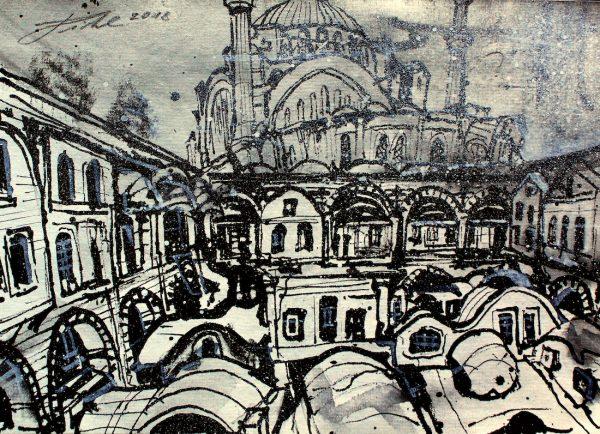 Türkei, Istanbul, Çuhacı Han am grossen Basar (Nr. 18097)