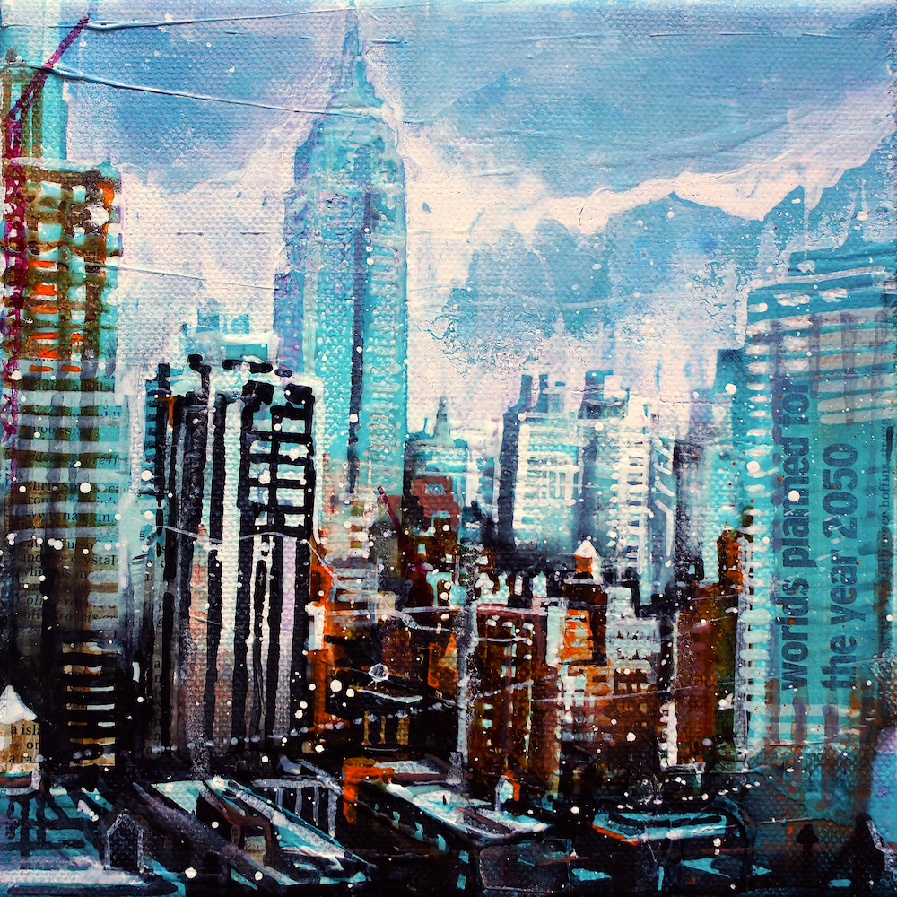 New York – Manhattan, View from Holiday Inn (Nr  19007